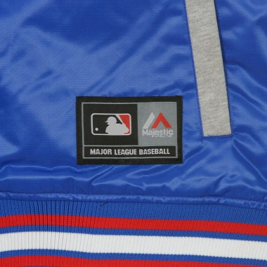 GIUBBOTTO COLLEGE MLB BESSON HOODED MIX FABRIC JACKET LOSDOD