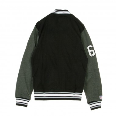 FELPA COLLEGE NFL SENELL FLEECE LETTERMAN JACKET OAKRAI