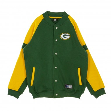 FELPA COLLEGE NFL JEITER FLEECE LETTERMAN JACKET GREPAC