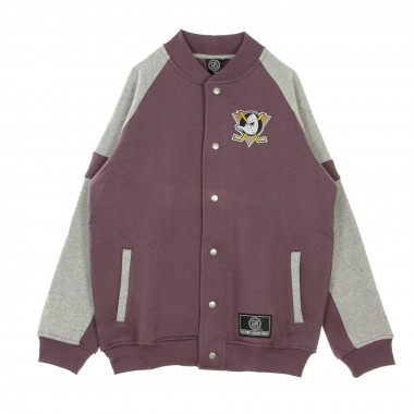 FELPA COLLEGE NHL JEITER FLEECE LETTERMAN JACKET ANADUC