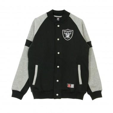 FELPA COLLEGE NFL JEITER FLEECE LETTERMAN JACKET OAKRAI