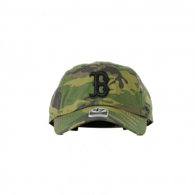 CAPPELLINO VISIERA CURVA MLB CLEAN UP CAMO UNWASHED BOSRED