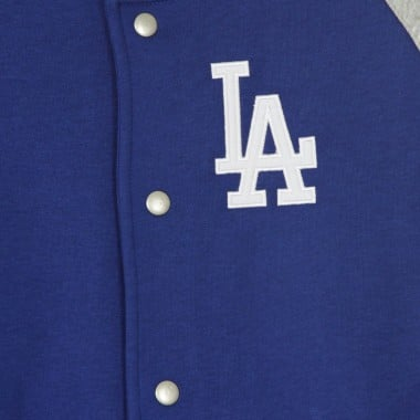 FELPA COLLEGE MLB JEITER FLEECE LETTERMAN JACKET LOSDOD