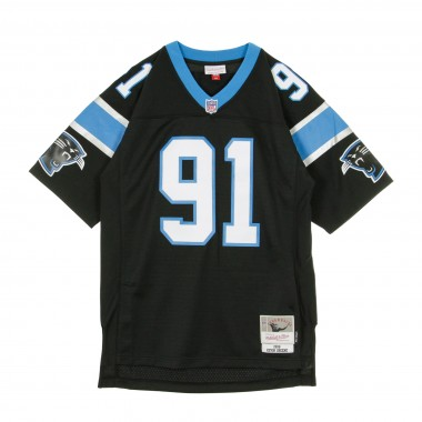 CASACCA FOOTBALL AMERICANO NFL LEGACY JERSEY KEVIN GREENE NO91 CAROLINA PANTHERS 1996 HOME