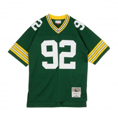CASACCA FOOTBALL AMERICANO NFL LEGACY JERSEY REGGIE WHITE NO92 GREEN BAY PACKERS 1996 HOME