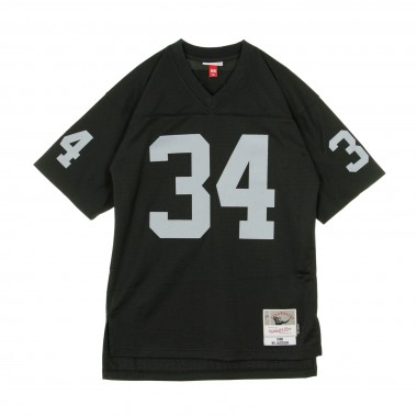 CASACCA FOOTBALL AMERICANO NFL LEGACY JERSEY BO JACKSON NO34 LOS ANGELES RAIDERS 1988 HOME