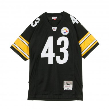 CASACCA FOOTBALL AMERICANO NFL LEGACY JERSEY TROY POLAMALU NO43 PITTSBRUGH STEELERS 2005 HOME