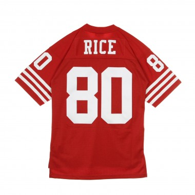 CASACCA FOOTBALL AMERICANO NFL LEGACY JERSEY JERRY RICE NO80 SAN FRANCISCO 49ERS 1990 HOME