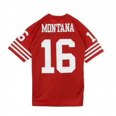 CASACCA FOOTBALL AMERICANO NFL LEGACY JERSEY JOE MONTANA NO16 SAN FRANCISCO 49ERS 1990 HOME