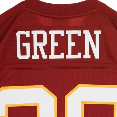 CASACCA FOOTBALL AMERICANO NFL LEGACY JERSEY DARRELL GREEN NO28 WASHINGTON REDSKINS 1991 HOME