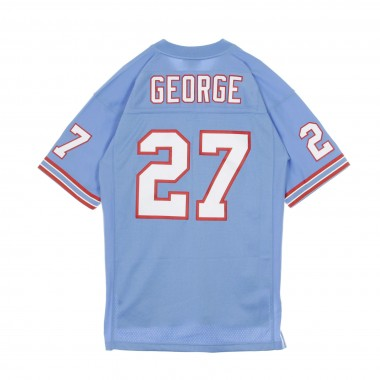 CASACCA FOOTBALL AMERICANO NFL LEGACY JERSEY EDDIE GEORGE NO27 TENNESSEE OILERS 1997 HOME
