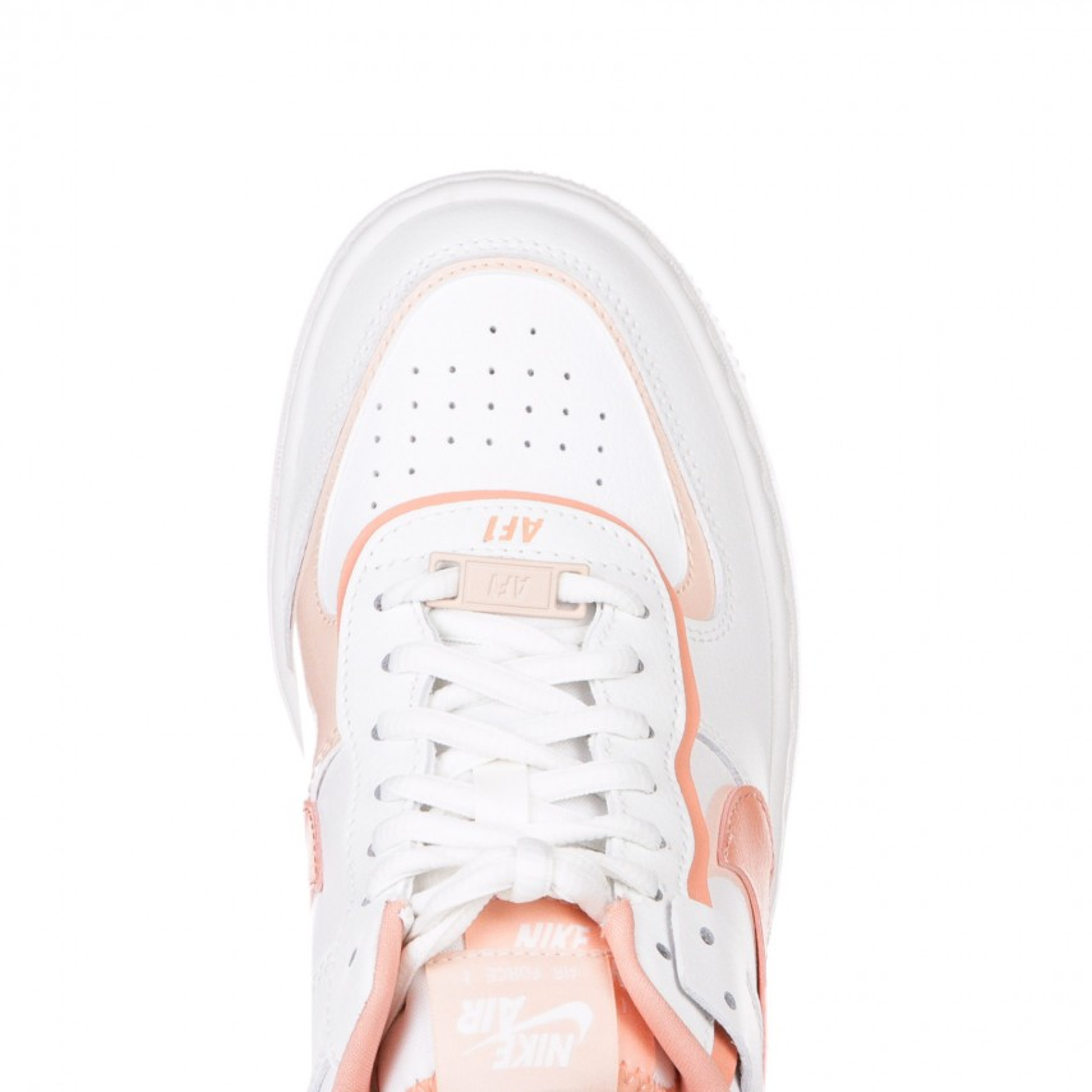 scarpa bassa donna w air force 1 shadow SUMMIT WHITE/PINK QUARTZ/WASHED CORAL