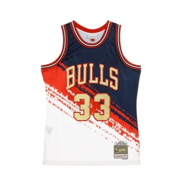 CANOTTA BASKET NBA SWINGMAN JERSEY INDEPENDENCE HARDWOOD CLASSICS NO33 SCOTTIE PIPPEN CHIBUL