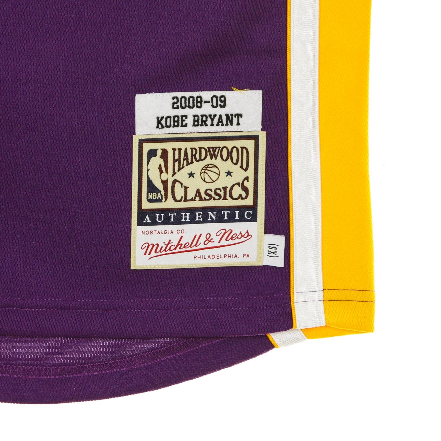 CANOTTA BASKET NBA AUTHENTIC JERSEY HARDWOOD CLASSICS NO24 KOBE BRYANT 2008-09 LOSLAK ROAD