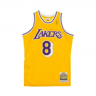 CANOTTA BASKET NBA AUTHENTIC JERSEY HARDWOOD CLASSICS NO8 KOBE BRYANT 1996-97 LOSLAK HOME