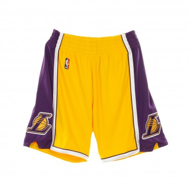 PANTALONCINO BASKET NBA AUTHENTIC SHORT HARDWOOD CLASSICS 2009-10 LOSLAK HOME