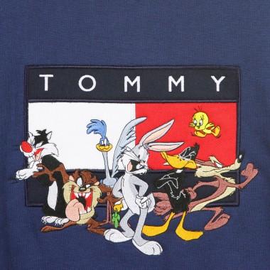 FELPA GIROCOLLO TOMMY X LOONEY TUNES CREW