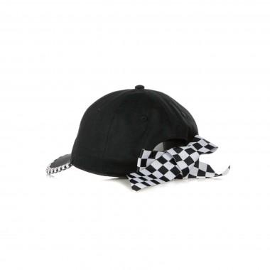 CAPPELLINO VISIERA CURVA BOW BACK HAT