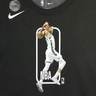 MAGLIETTA NBA DRY TEE PLAYER LOGO GIANNIS ANTETOKOUNMPO MILBUC