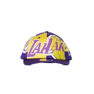 CAPPELLINO VISIERA PIATTA NBA ALL OVER LOW PROFILE 950 LOSLAK