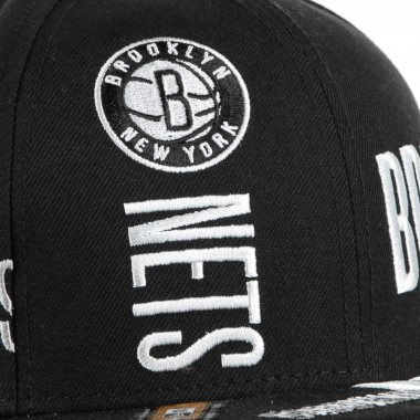 CAPPELLINO VISIERA PIATTA NBA TIP OFF SERIES 950 BRONET