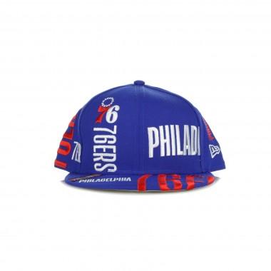 CAPPELLINO VISIERA PIATTA NBA TIP OFF SERIES 950 PHI76E