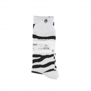 CALZA MEDIA ZEBRA SOCKS