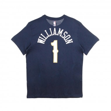 MAGLIETTA NBA NAME  NUMBER TEE NO 1 ZION WILLIAMSON NEOPEL