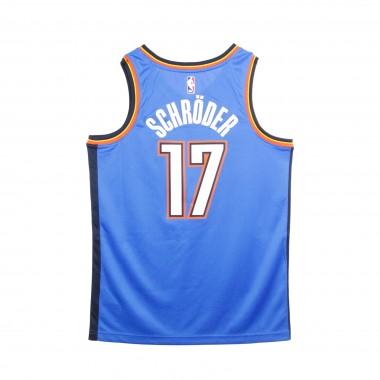 CANOTTA BASKET NBA SWINGMAN JERSEY ICON EDITION NO 17  DENNIS SCHRDER OKLTHU