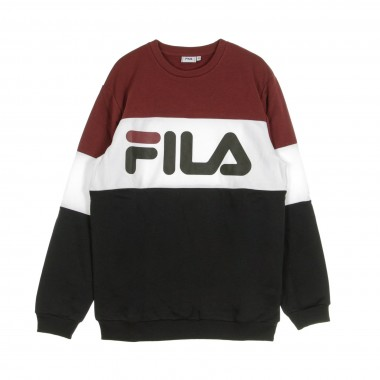 FELPA GIROCOLLO STRAIGHT BLOCKED CREW