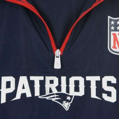 GIACCA A VENTO INFILABILE NFL 1/4 ZIP WINDBREAKER NEEPAT