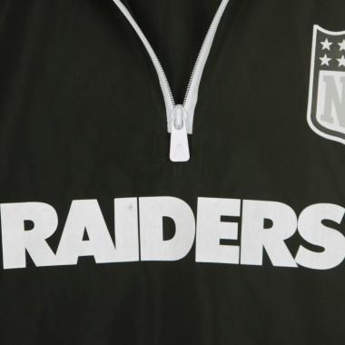 GIACCA A VENTO INFILABILE NFL 1/4 ZIP WINDBREAKER OAKRAI