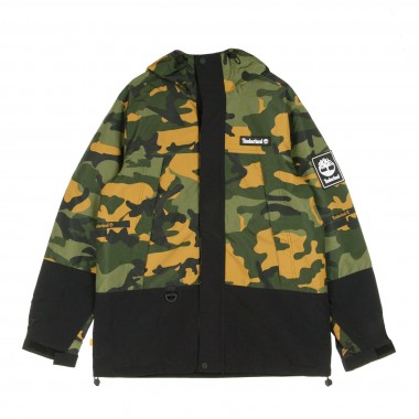 GIACCA A VENTO CAMO MOUNTAIN JACKET