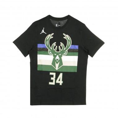MAGLIETTA NBA TEE JORDAN STATEMENT EDITION NO 34 GIANNIS ANTETOKOUNMPO MILBUC