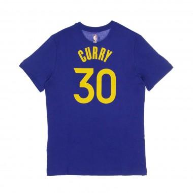 MAGLIETTA NBA TEE NO 30 STEPHEN CURRY GOLWAR