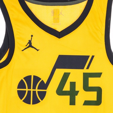CANOTTA BASKET NBA SWINGMAN JORDAN STATEMENT EDITION 2020 NO 45 DONOVAN MITCHELL UTAJAZ