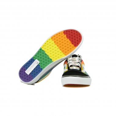 SCARPA BASSA OLD SKOOL RAINBOW DRIP