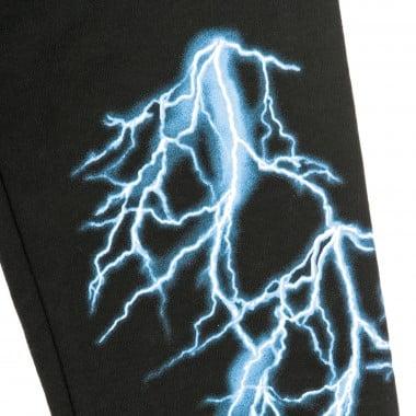 PANTALONE TUTA LEGGERO LIGHT BLUE LIGHTNING PANTS