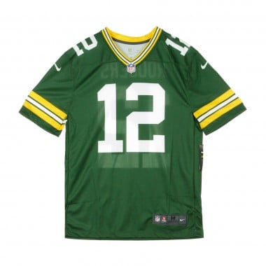 CASACCA FOOTBALL AMERICANO NFL LEGEND TEAM COLOUR JERSEY NO12 RODGERS GREPAC