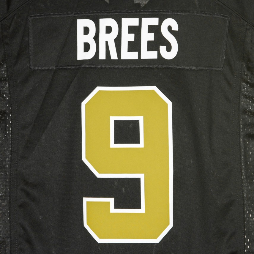 CASACCA FOOTBALL AMERICANO NFL GAME ALTERNATE JERSEY NO9 BREES NEOSAI