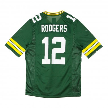 CASACCA FOOTBALL AMERICANO NFL GAME TEAM COLOUR JERSEY NO12 RODGERS GREPAC
