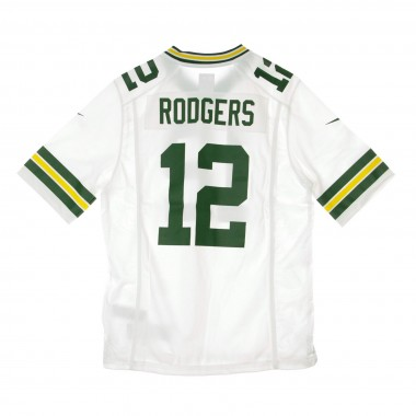 CASACCA FOOTBALL AMERICANO NFL GAME ROAD JERSEY NO12 RODGERS GREPAC