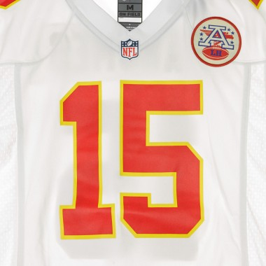 CASACCA FOOTBALL AMERICANO NFL GAME ROAD JERSEY NO15 MAHOMES KANCHI