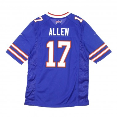 CASACCA FOOTBALL AMERICANO NFL GAME TEAM COLOUR JERSEY NO17 ALLEN BUFBIL
