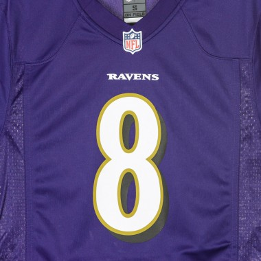 CASACCA FOOTBALL AMERICANO NFL GAME TEAM COLOUR JERSEY NO8 JACKSON BALRAV