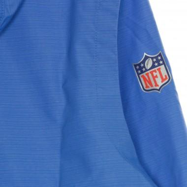 GIACCA A VENTO INFILABILE NFL TEAM LOGO PREGAME LIGHTWEIGHT PLAYER JACKET LOSCHA