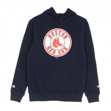 FELPA CAPPUCCIO MLB ICONIC SECONDARY COLOUR LOGO GRAPHIC HOODIE BOSRED