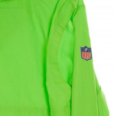 GIACCA A VENTO INFILABILE NFL TEAM LOGO PREGAME LIGHTWEIGHT PLAYER JACKET SEASEA