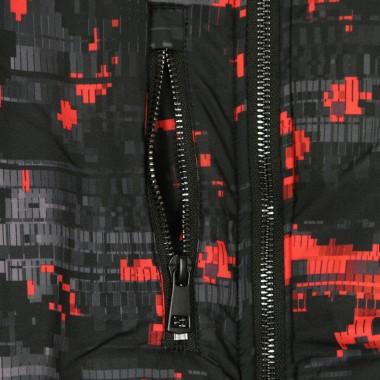 GIUBBOTTO BOMBER REVERSIBLE BOMBER GLITCH CAMO