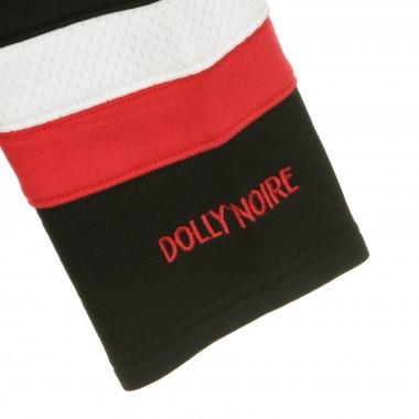 FELPA TIPO HOCKEY BLACK  RED HOCKEY HOODIE